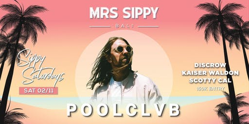 Sippy Saturdays presents: POOLCLVB