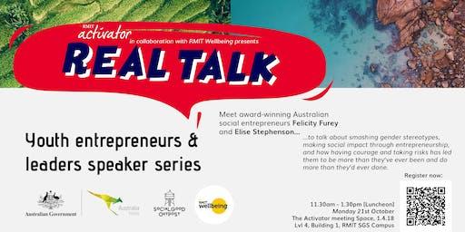 Youth Entrepreneurs & Leaders speaker series