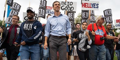HOUSTON (MEYERLAND) FOR BETO ORGANIZING TOUR