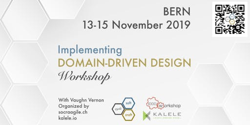 Intensive, 3-Day, hands-on IDDD Workshop by Vaughn Vernon in Bern (CH)