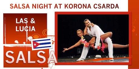 Salsa night at Korona tickets
