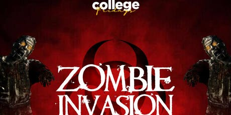 COLLEGE FRIDAYS @ BELASCO 18+ / ZOMBIE INVASION Halloween / FREE until 1030 tickets