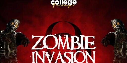COLLEGE FRIDAYS @ BELASCO 18+ / ZOMBIE INVASION / EVERYONE FREE until 1030