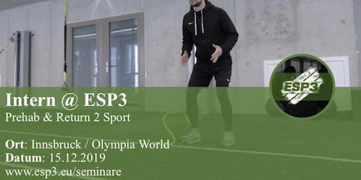 Modul 3 - Prehab & Return 2 Sport