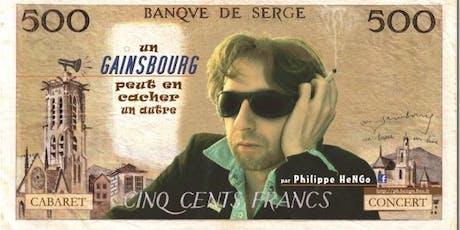Diner Spectacle Gainsbourg / Raclette Beaujolais nouveau billets