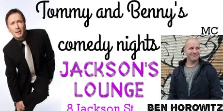 Tommy & Benny's Comedy Nights tickets