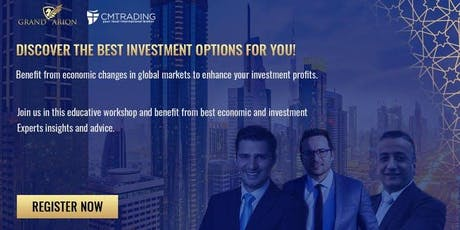 Discover the best investment options for you tickets