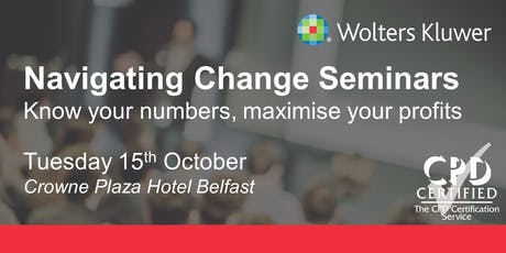 Wolters Kluwer Seminar - Belfast tickets