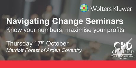 Wolters Kluwer Seminar - Coventry tickets