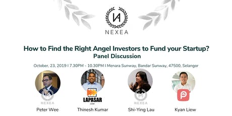 NEXEA presents: How to find the right Angel Investors to fund your startup? tickets