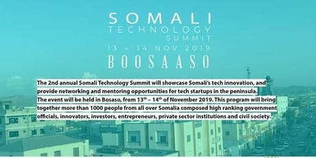 Somali Tech Summit 2019 tickets
