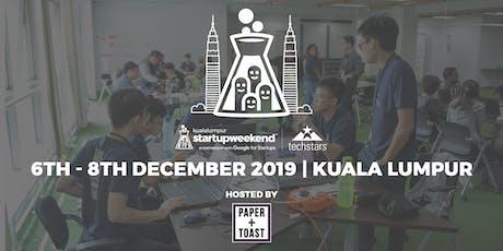 Techstars Startup Weekend Kuala Lumpur tickets