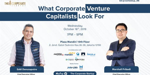 What Corporate Venture Capitalists look for