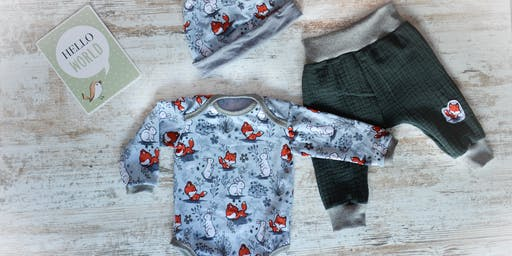Näh die erste Garderobe für dein Baby
