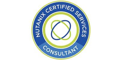 Nutanix Certified Specialist - Calm Consultant (NCS C-CA) -  San Jose, CA - Nov 13 & 14, 2019
