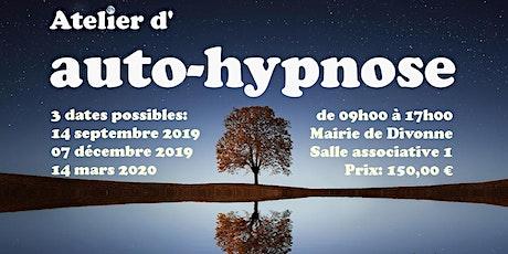 Pratiquez l'auto-hypnose le 14 mars 2020 à Divonne-les-Bains 01220 tickets
