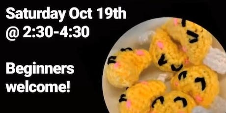 Learn to Make Crochet Fortune Cookies tickets