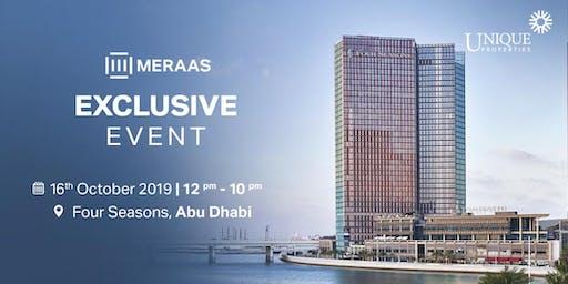 Meraas Exclusive Abu Dhabi Event