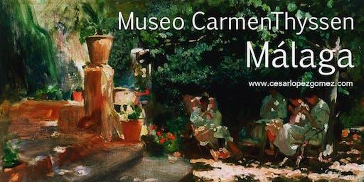 Visita Guiada Museo Carmen Thyssen (El precio incluye entrada al Museo)