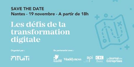 Les défis de la transformation digitale, à Nantes billets
