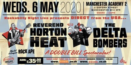 Reverend Horton Heat + Delta Bombers & Support from The Deadshots tickets