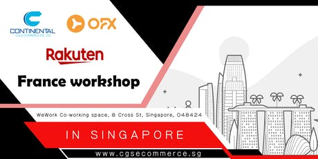 Selling on Rakuten France - eCommerce workshop tickets