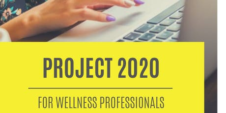 2020 Vision for your health + wellness business tickets