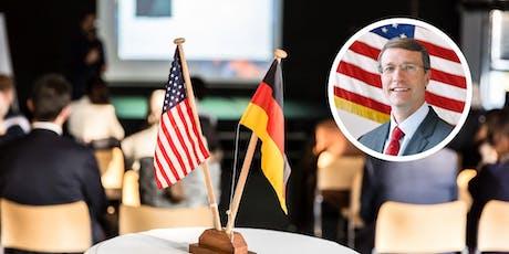 Let's Talk Business: The U.S.-German Business Relationship, Ken Walsh tickets