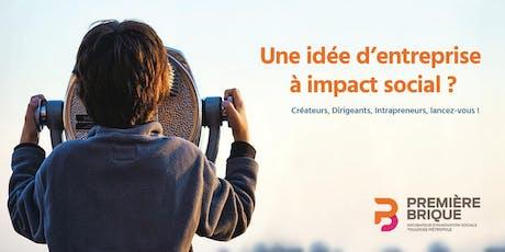 Réunion d'informations : Appel à projets d'innovation sociale billets