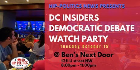 DC Democratic Debate Watch Party tickets