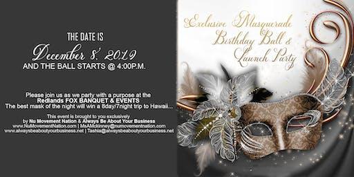 Tashia's Birthday Masquerade Ball &  Akiba's Launch Party