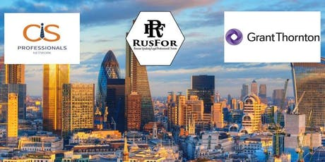 Networking reception with GT, RusFor and CIS Professionals' Network tickets