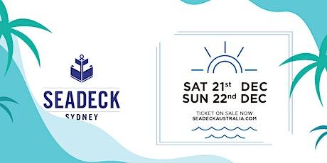 Seadeck Summer Sessions Sat 21 Dec tickets