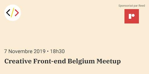 Creative Front-end Belgium Meetup