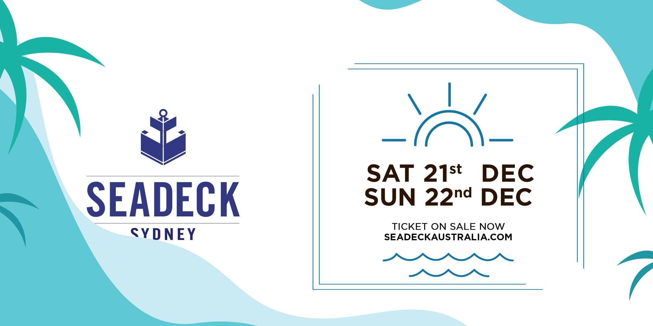 Seadeck Summer Sessions Sun 22 Dec