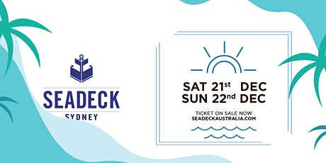 Seadeck Summer Sessions Sun 22 Dec tickets