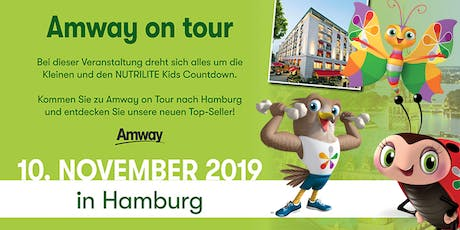 AMWAY ON TOUR - Hamburg, 10. November 2019 Tickets