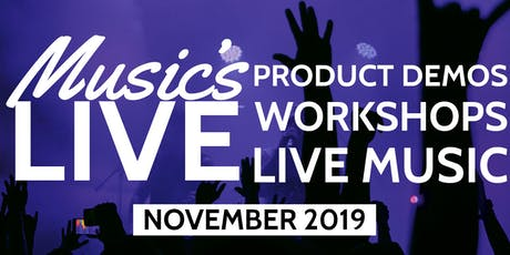 Music's Live 2019 at PMT Birmingham tickets