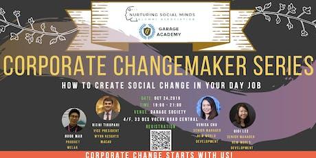 Garage Academy x NSM: Corporate Change Maker Series #1 tickets