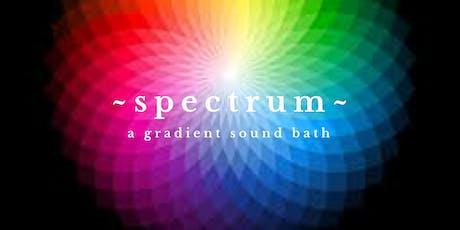 SPECTRUM ~ A Sound Meditation Workshop tickets