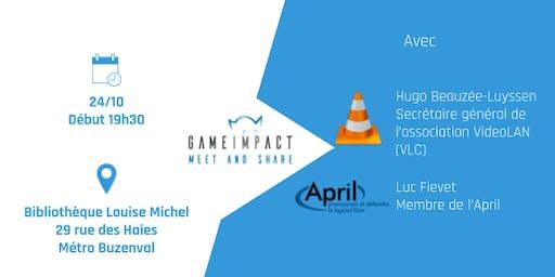Meetup Game Impact - Le Logiciel Libre