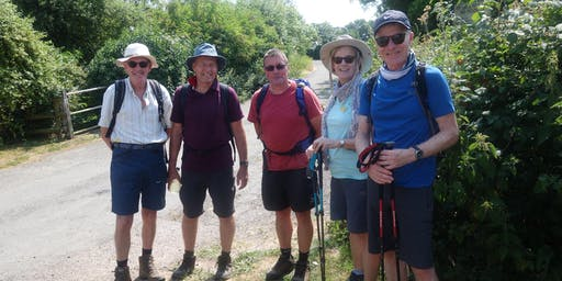 St Richard's Hospice Worcestershire Way Walk 2020
