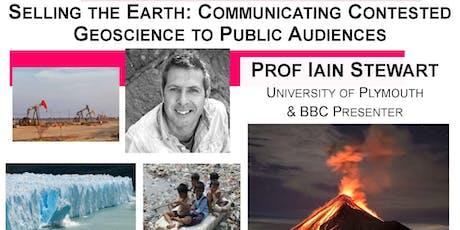 SEGG Inaugural Seminar - Professor Iain Stewart tickets