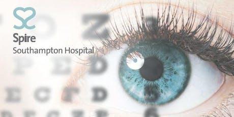 Cataract mini consultation evening tickets