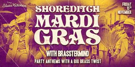 Shoreditch Mardi Gras: Brasstermind tickets