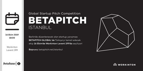 Betapitch İstanbul tickets