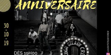 Laugh Steady Crew - Open Mic Spéciale Anniversaire billets