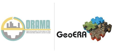 ORAMA project final event with GeoERA: Improving European raw material data tickets