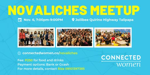 #ConnectedWomen Meetup - Novaliches (PH) - November 6