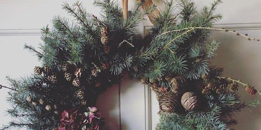 Natural Wreath Workshop